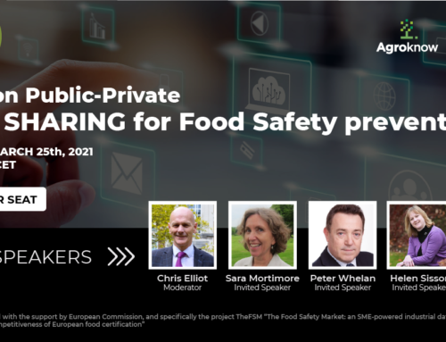Panel on Public-Private Data Sharing for Food Safety prevention